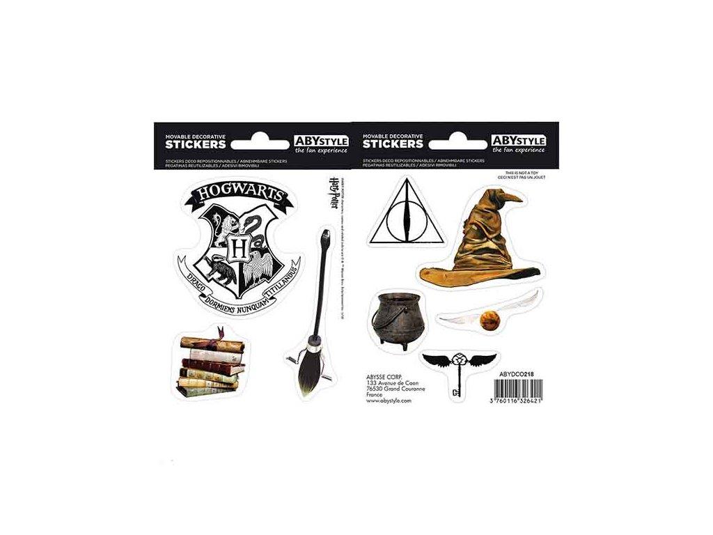 Harry Potter Magical Objects Nálepky 2-Pack (16 x 11cm)