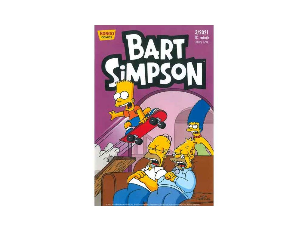Simpsonovi: Bart Simpson 03/2021