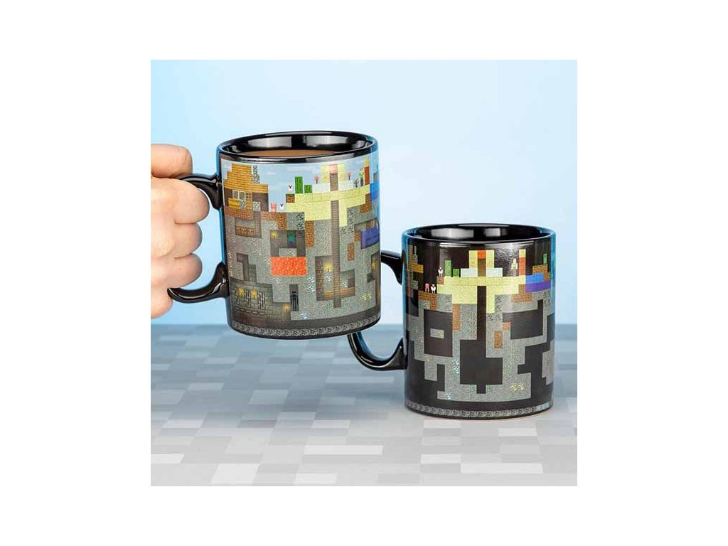 Minecraft Heat Change Mug Šálka