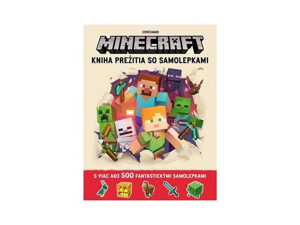 Minecraft: Kniha prežitia so samolepkami