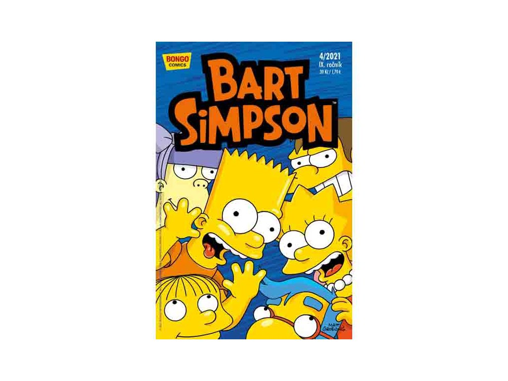 Simpsonovi: Bart Simpson 04/2021