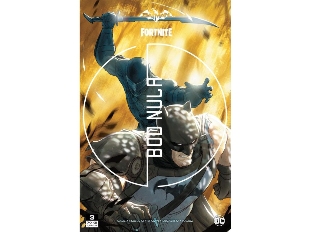 Batman / Fortnite: Bod nula 3