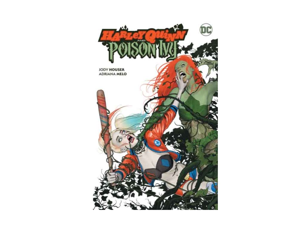 Harley Quinn and Poison Ivy Cover