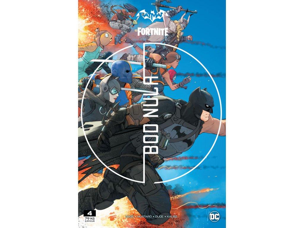 Batman / Fortnite: Bod nula 4