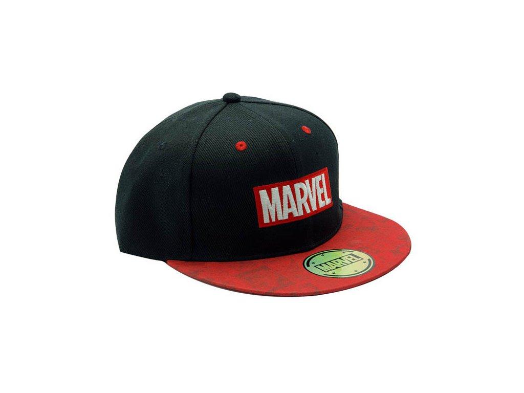 Marvel Comics Šiltovka Logo Black and Red