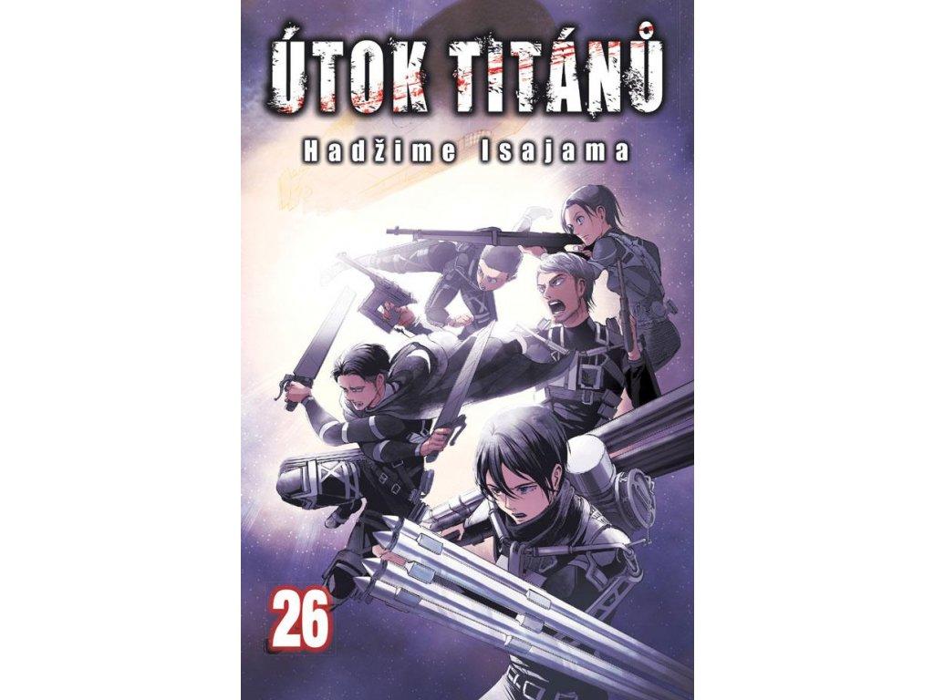 Manga Útok titánů 26