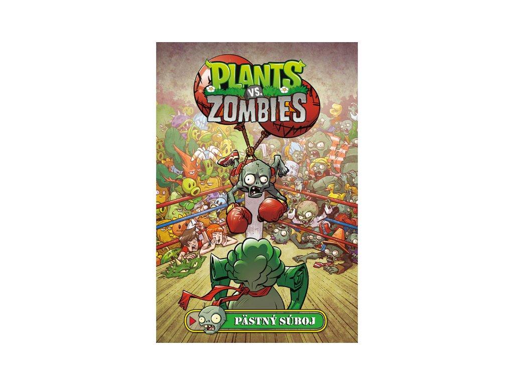 plants vs zombies pastny suboj 9788056622469