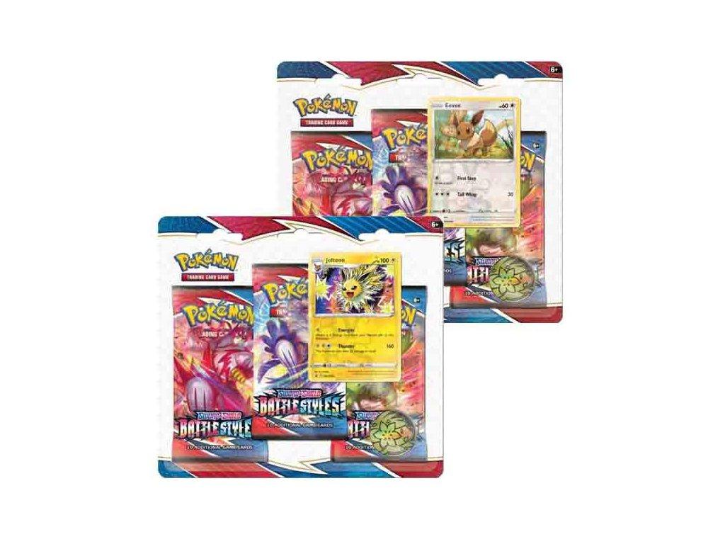 pokemon tcg sword shield battle styles blister pack with 3 booster packs 820650808227