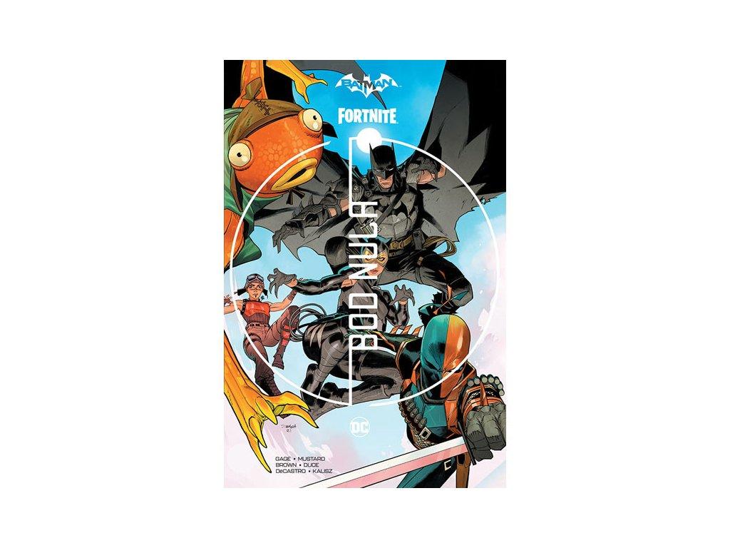 batman fortnite bod nula souborne vydani 9788076791077