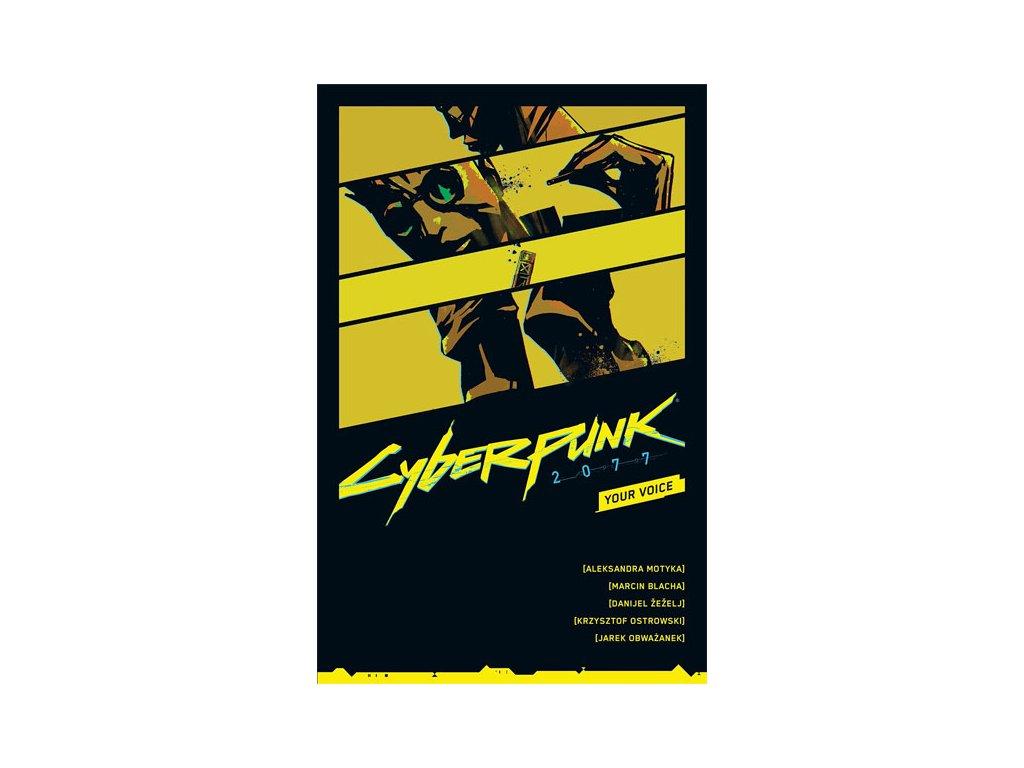 cyberpunk 2077 your voice 9781506726236
