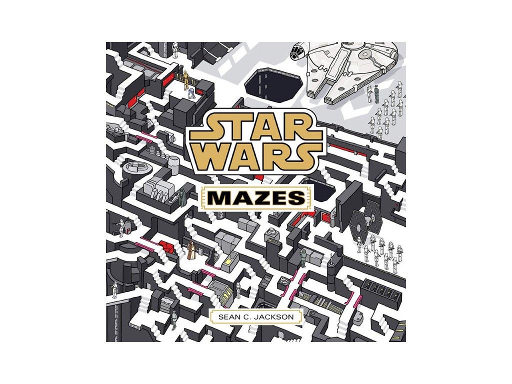 star wars mazes 9781797205946