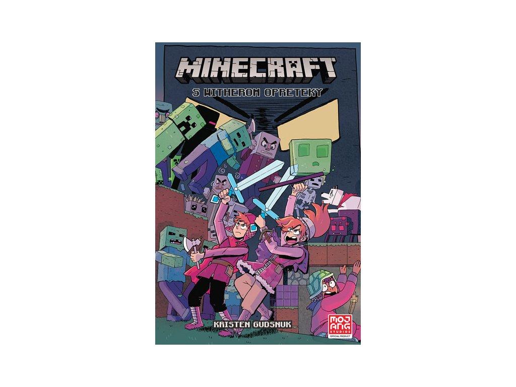 minecraft komiks s witherom opreteky 9788055653402