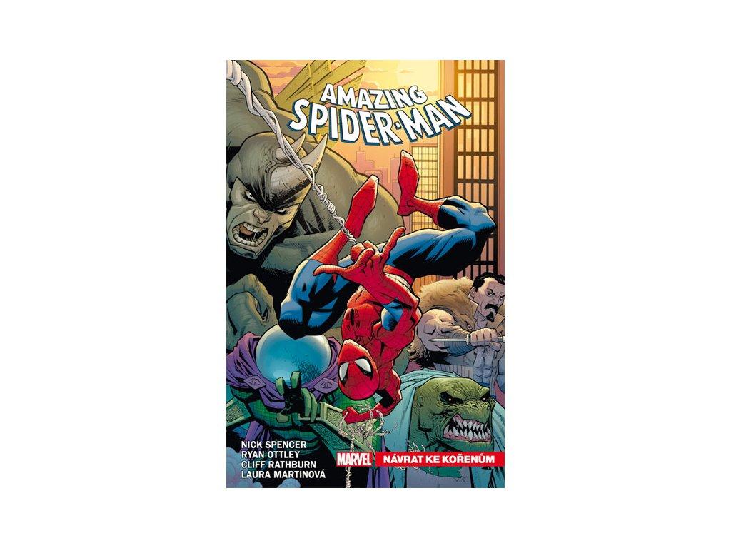 amazing spider man 1 navrat ke korenum 9788076790773