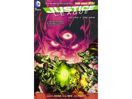 Justice League 4: The Grid (The New 52)