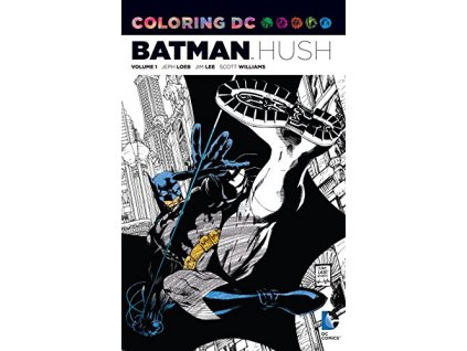 Coloring DC: Batman Hush 1
