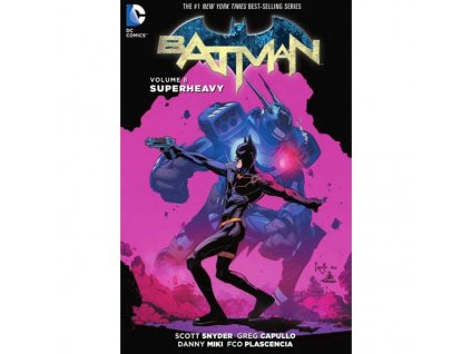 Batman 8: Superheavy (Pevná väzba)