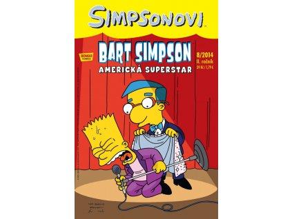 Simpsonovi: Bart Simpson 08/2014 - Americká Superstar