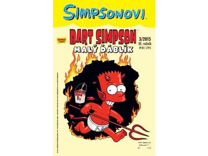 Simpsonovi: Bart Simpson 03/2015 - Malý ďáblík