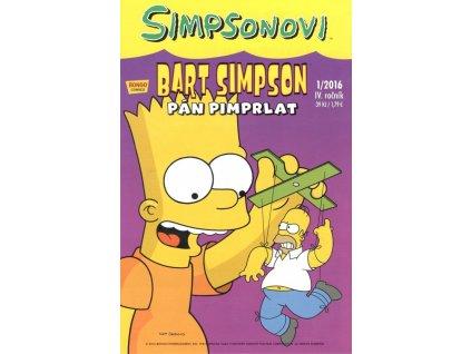 Simpsonovi: Bart Simpson 01/2016 - Pán Pimprlat