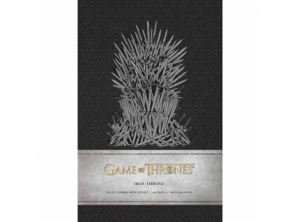 Game of Thrones Zápisník Iron Throne