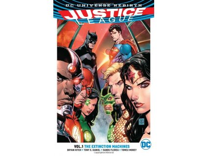 Justice League 1: The Extinction Machines (Rebirth)