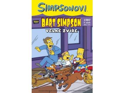 Simpsonovi: Bart Simpson01/2017 - Velké zvíře