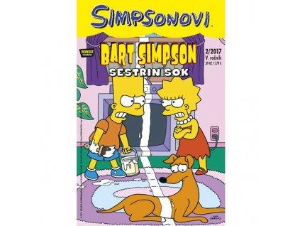 Simpsonovi: Bart Simpson02/2017 - Sestřin sok