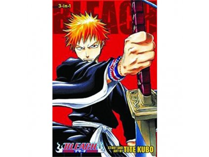 Bleach 3in1 Edition 01 (Includes 1, 2, 3)