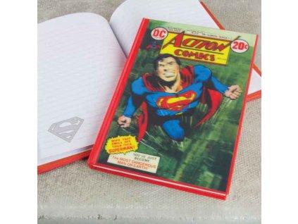 Superman Zápisník 3D Effect