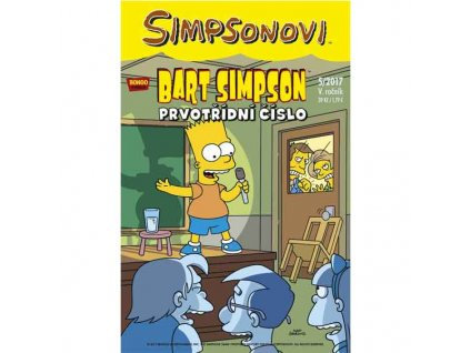 Simpsonovi: Bart Simpson05/2017 - Prvotřídní číslo