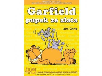 Garfield 48 - Pupek ze zlata