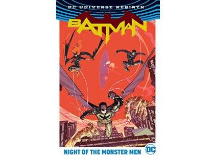 Batman: Night of the Monster Men (Rebirth) Pevná väzba