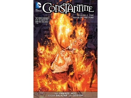 Constantine 3: The Voice in the Fire (The New 52)