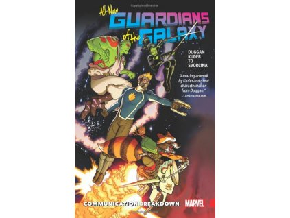 All-New Guardians of the Galaxy 1: Communication Breakdown