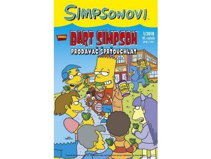 Simpsonovi: Bart Simpson01/2018 - Prodavač šprťouchlat