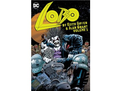Lobo by Keith Giffen and Alan Grant 1
