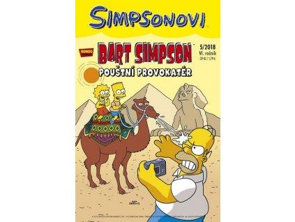 Simpsonovi: Bart Simpson05/2018 - Pouštní provokatér
