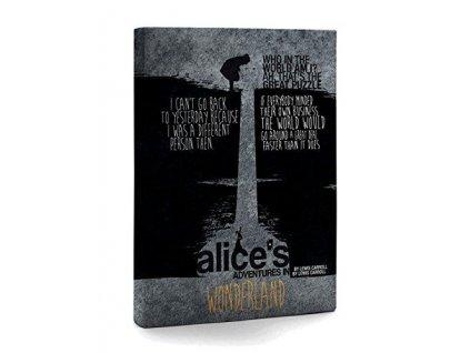 Alice's Adventures In Wonderland Zápisník