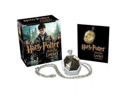 Harry Potter Locket Horcrux Kit and Sticker Book Miniature Editions