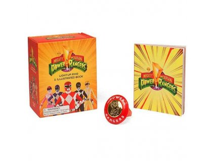 Mighty Morphin Power Rangers Light-Up Ring (Miniature Editions)