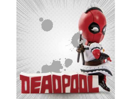Marvel Comics Mini Egg Attack Deadpool Servant Figure (9 cm)