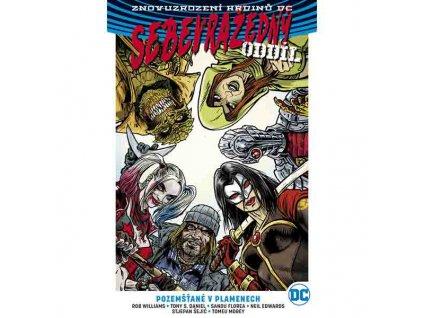 Sebevražedný oddíl 4: Pozemšťané v plamenech (Znovuzrození hrdinů DC) CZ Obálka