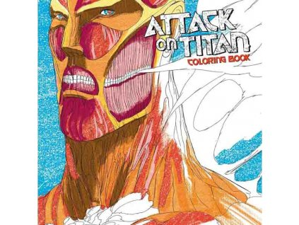 Attack on Titan Adult Coloring Book
