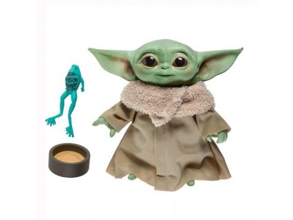 Star Wars The Mandalorian: The Child (Baby Yoda) Talking Plush 19 cm