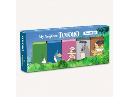 My Neighbor Totoro Erasers (Gumy sada 5 ks)