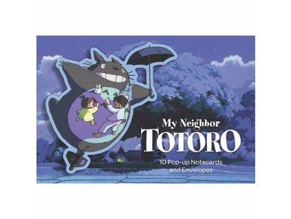 My Neighbor Totoro 10 Pop-Up Notecards and Envelopes (Kartičky)