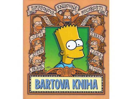 Bartova kniha - Simpsonova knihovna moudrosti