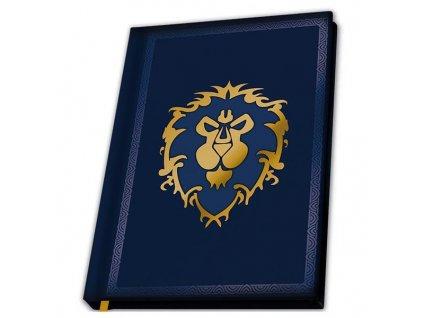 World of Warcraft Zápisník Alliance A5