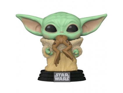 Funko POP! Star Wars The Mandalorian: The Child with Frog (Baby Yoda)