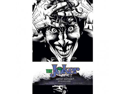 Dc Comics: Joker Artist Edition Brian Bolland Zápisník